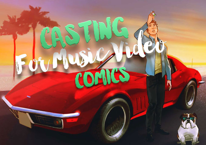 Get Cast for the 'Magic Pills' music video – a high energy song created by producer Alex Moss