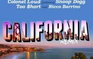 """California"" (Rmx) – Colonel Loud featuring Ricco Barrino, Snoop Dogg & Too Short"