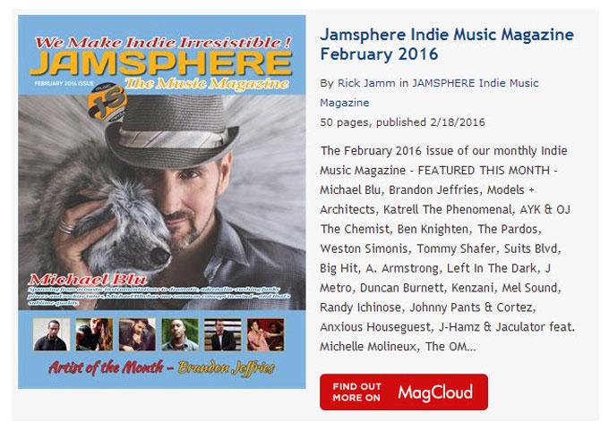 Jamsphere Indie Music Magazine February 2016