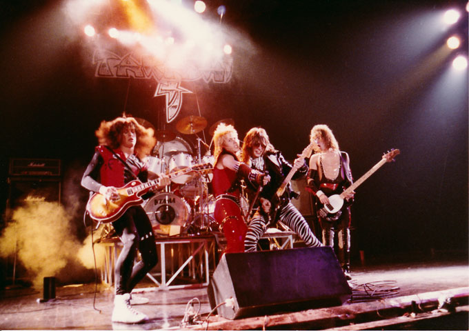 New York's over the top 80's metallic rockers TAKASHI re-issue 'Kamikaze Killers'