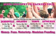 Hacking the Music Industry Now On Tour!