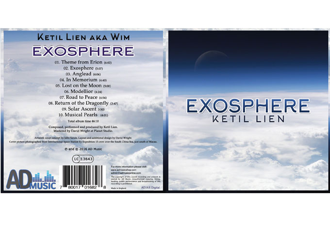 Ketil Lien: 'Exosphere' – engaging melodies coupled with cinematic sweep!