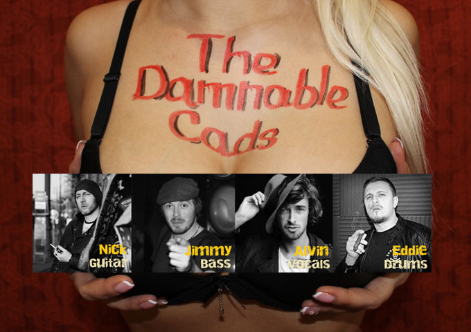 "The Damnable Cads: ""All Night Long"" – grounded and spacey at the same time, while maintaining a sharp rock edge!"