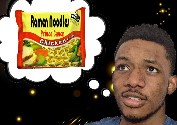 "Prince Canon: ""Ramen Noodles"" moves away from stereotyped rapping themes!"