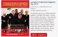 Jamsphere Indie Music Magazine May 2016