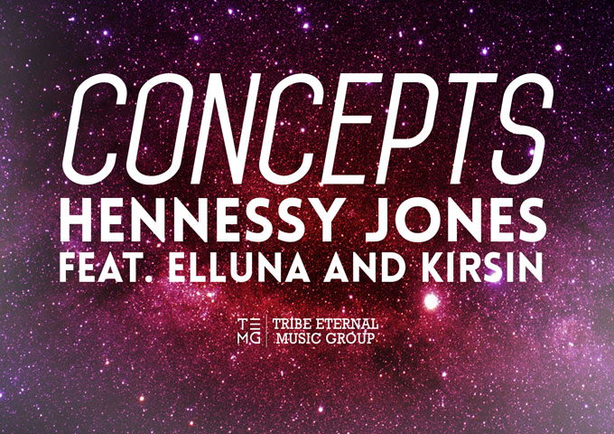 "Hennessy Jones: ""Concepts"" ft. Elluna and Kirsin reinvents the classic hip-hop recipe"