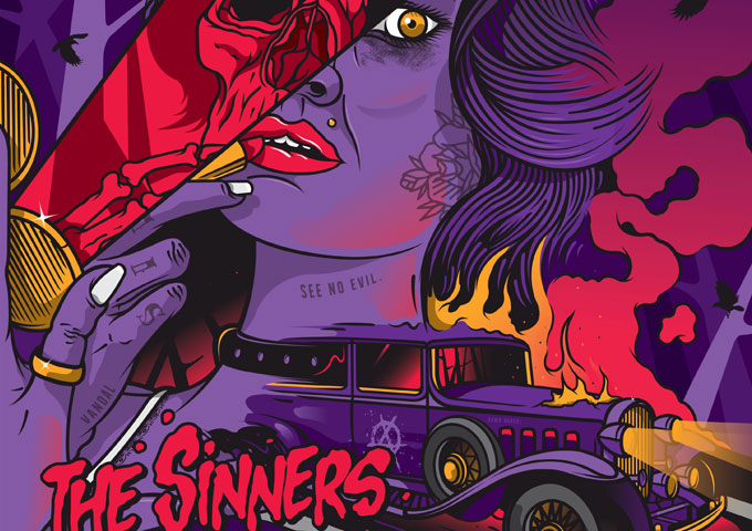 """The Sinners: """"Tales of Youth and Revenge"""" – pure Rock n' Roll with attitude!"""