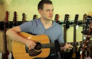 American Idol Star, Clark Beckham in Nashville @ Carter Vintage Guitars