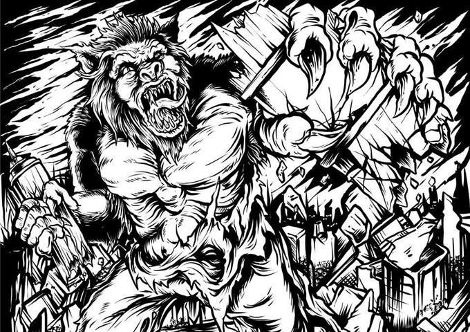 E-Major turns his menacing rhymes into hyper-surreal, dark and disturbing thrill-rides!