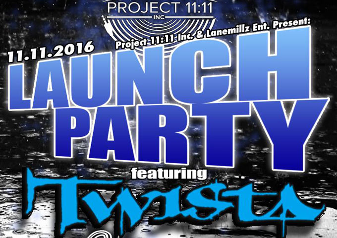 PROJECT 11:11 LAUNCH PARTY Presents Twista Live in Concert!