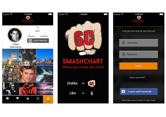 "GameSmash LLC Launches ""SmashChart"" Game APP!"