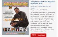 Jamsphere Indie Music Magazine November 2016
