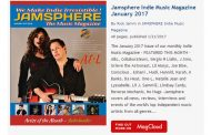 Jamsphere Indie Music Magazine January 2017