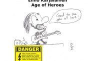 Elmo Karjalainen: 'Age Of Heroes' – a bulldozer of an album!