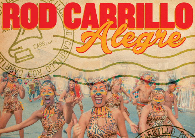 "Rod Carrillo: ""Alegre"" is already on the Top 50 Billboard Dance Chart!"