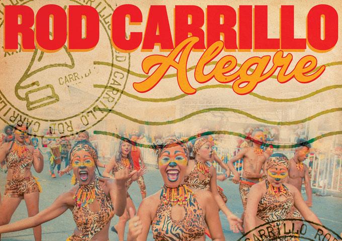 "Rod Carrillo: ""Alegre"" is already on the Top 50 Billboard Dance Chart!"