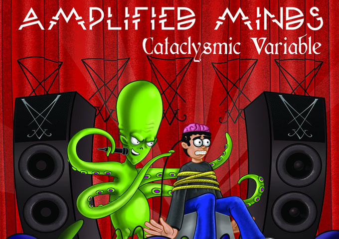 "The Cataclysmic Variable: ""Amplified Minds"" – a mammoth 23 track concept album"