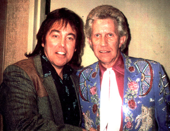 Donny Richmond & Porter Wagoner backstage at The Grand Ole Opry