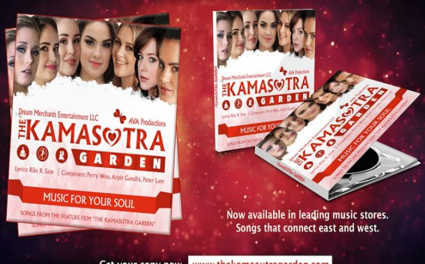"Music for your Soul – A blend of East and West Music from the Movie ""The Kamasutra Garden"""