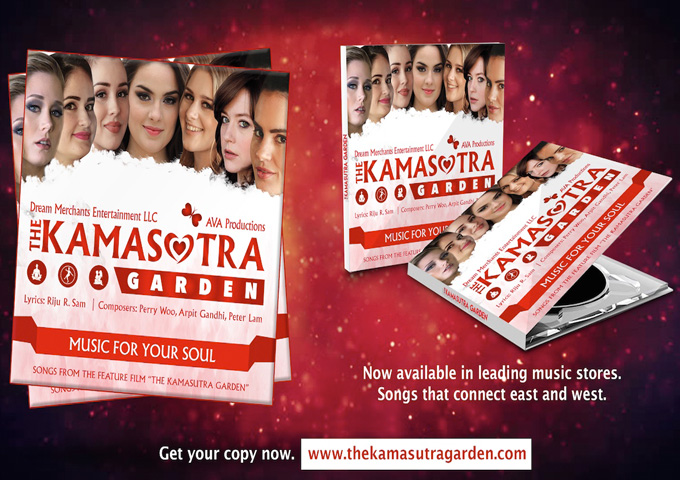 """Music for your Soul – A blend of East and West Music from the Movie """"The Kamasutra Garden"""""""