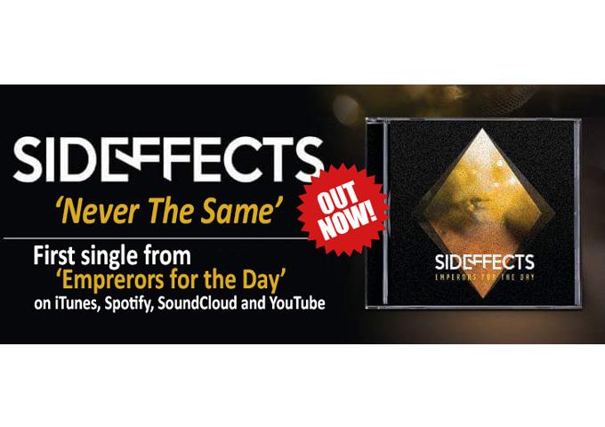 "Sideffects: ""Never The Same"" – complex piece of alternative rock art"