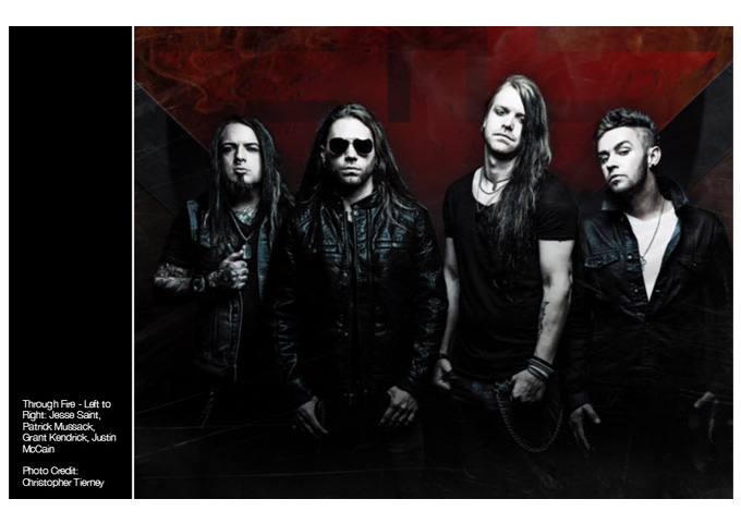 """Through Fire: """"Breathe (Deluxe Edition)"""" is catchy, heavy, melodic and anthemically insane!"""