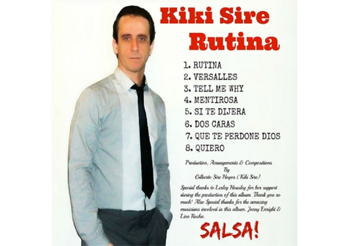 "Kiki Sire: ""Rutina"" retains all heat and spice of Salsa"