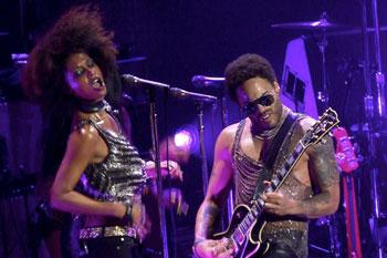 Jessie Wagner & Lenny Kravitz