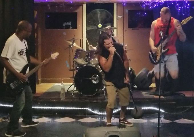 Stone Mob delivers pedal-to-the-metal hard rockers with a twist!