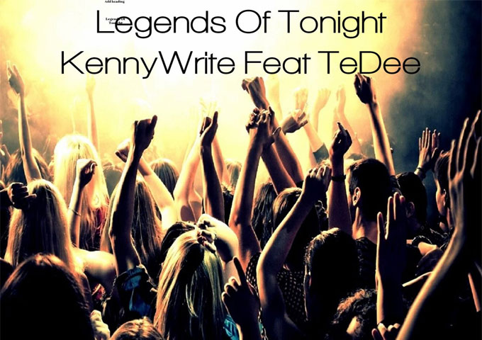 Songwriter KennyWrite makes it happen with determination, focus and self-discipline