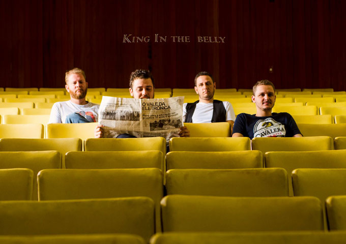 "King in the Belly: ""Let's Go"" crashes upon listeners eardrums!"