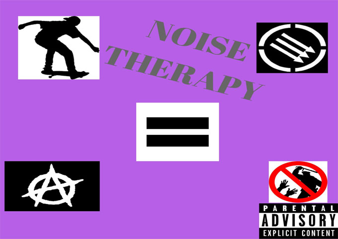 Noise Therapy – the  album centers a a set of common themes: loud, turbulent, jagged, and ferocious!