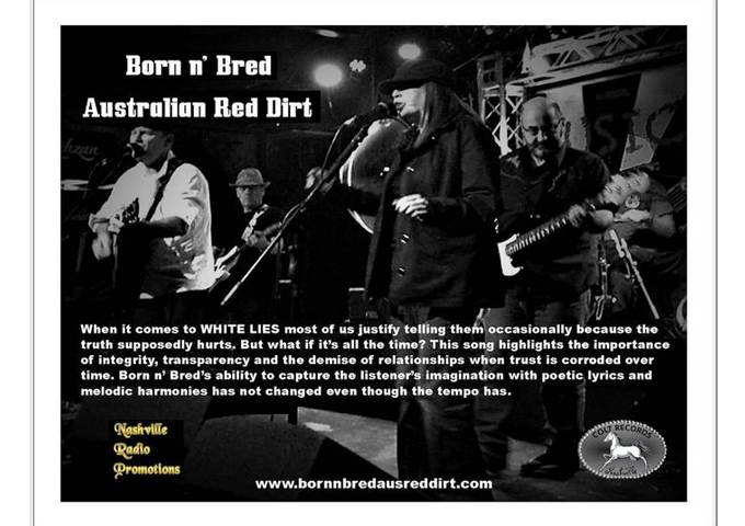 Latest Single From Australia's Born n' Bred Called 'White Lies'