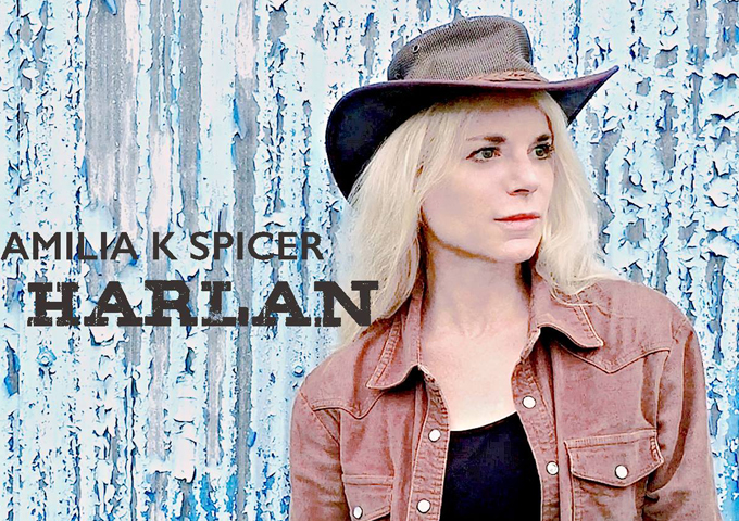 "Amilia K Spicer Releases New Single And Music Video ""Harlan"""