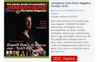 Jamsphere Indie Music Magazine October 2018