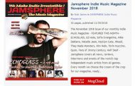 Jamsphere Indie Music Magazine November 2018