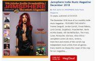 Jamsphere Indie Music Magazine December 2018