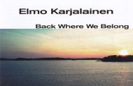 "Elmo Karjalainen: ""Back Where We Belong"" fuses into a glorious panorama of organic guitar sound"