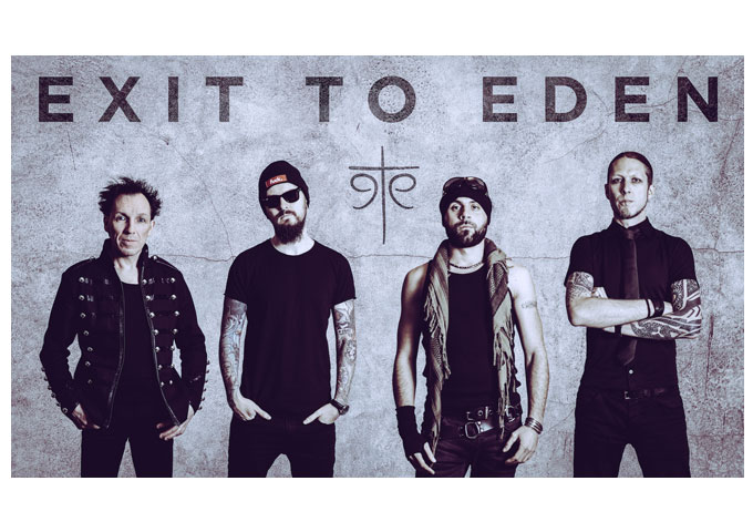 """Exit To Eden: """"Love At First Hate"""" – The extreme situation of hate-love, on their new Goth 'n Roll single!"""