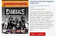 Jamsphere Indie Music Magazine August 2019