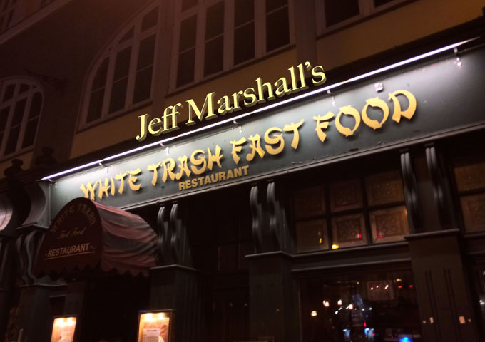 "Jeff Marshall – ""White Trash Fast Food Restaurant"" – mixing genuine musical genius with plenty of heart and boldness!"