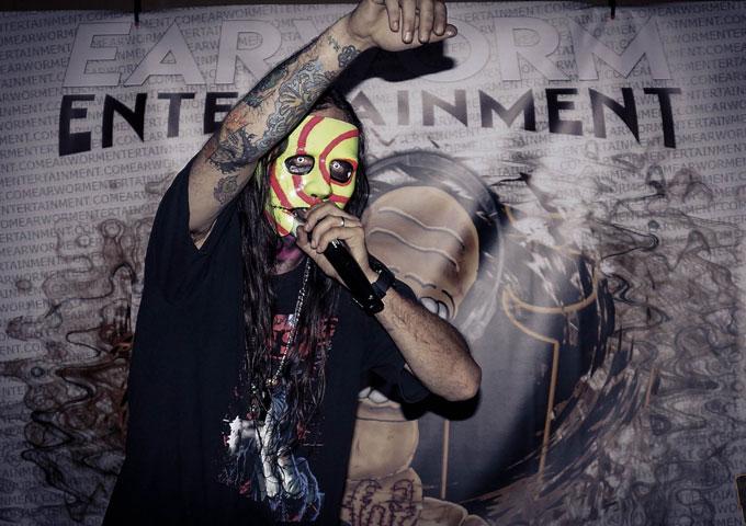 Earworm Entertainment Presents the masked Hip-hop musician Jay Prophet