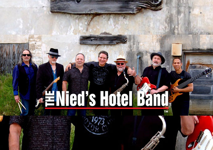 John Vento and The Nied's Hotel Band take you on a rollicking ride on their new Album