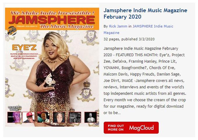 Jamsphere Indie Music Magazine February 2020
