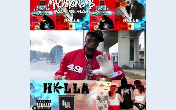 "Official Music Video Trailer: MACKronyms ft. Racci AK Ashy Knuckles as Cap'n Crunkle in ""Hella Lyt"""