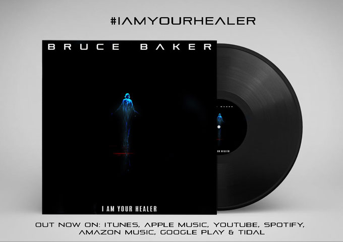 """Bruce Baker – """"I Am Your Healer"""" – The musical artistry of this project is ultra-excellent!"""