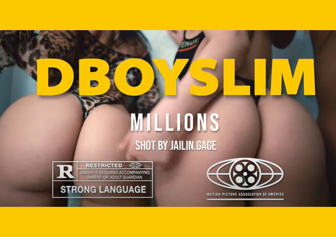 "DboySlim drops the incendiary visual for ""Millions"""