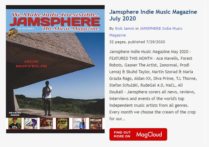 Jamsphere Indie Music Magazine July 2020