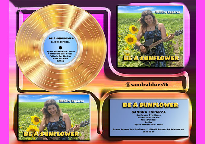 Sandra Esparza releases her new EP – 'Be a Sunflower'