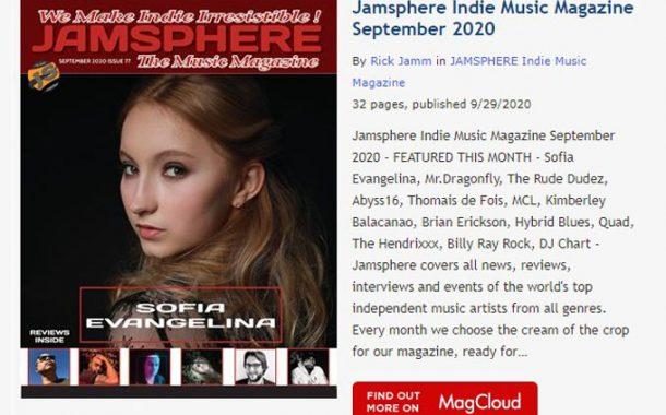 Jamsphere Indie Music Magazine September 2020